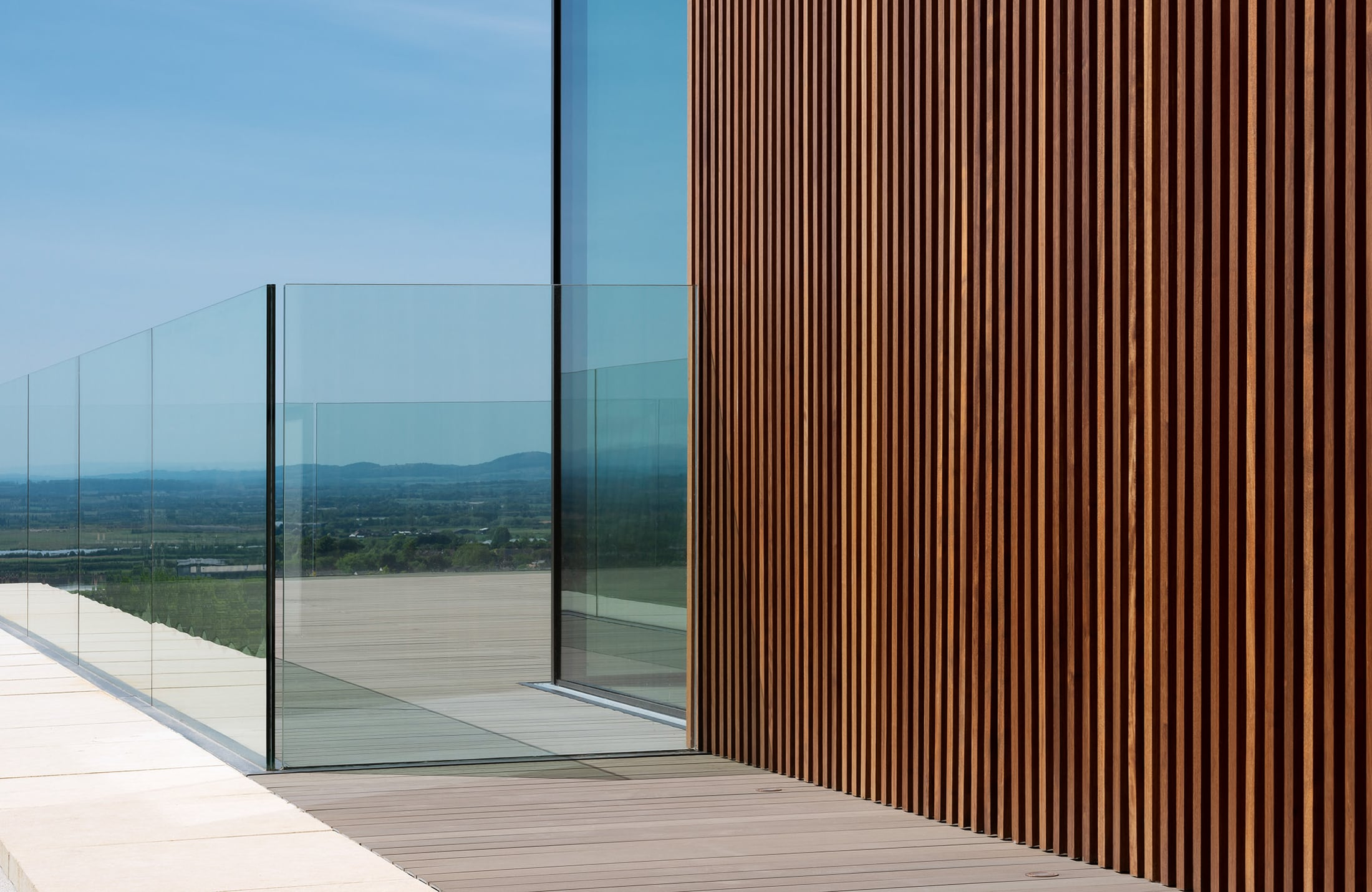 Contemporary Living — A House with a View