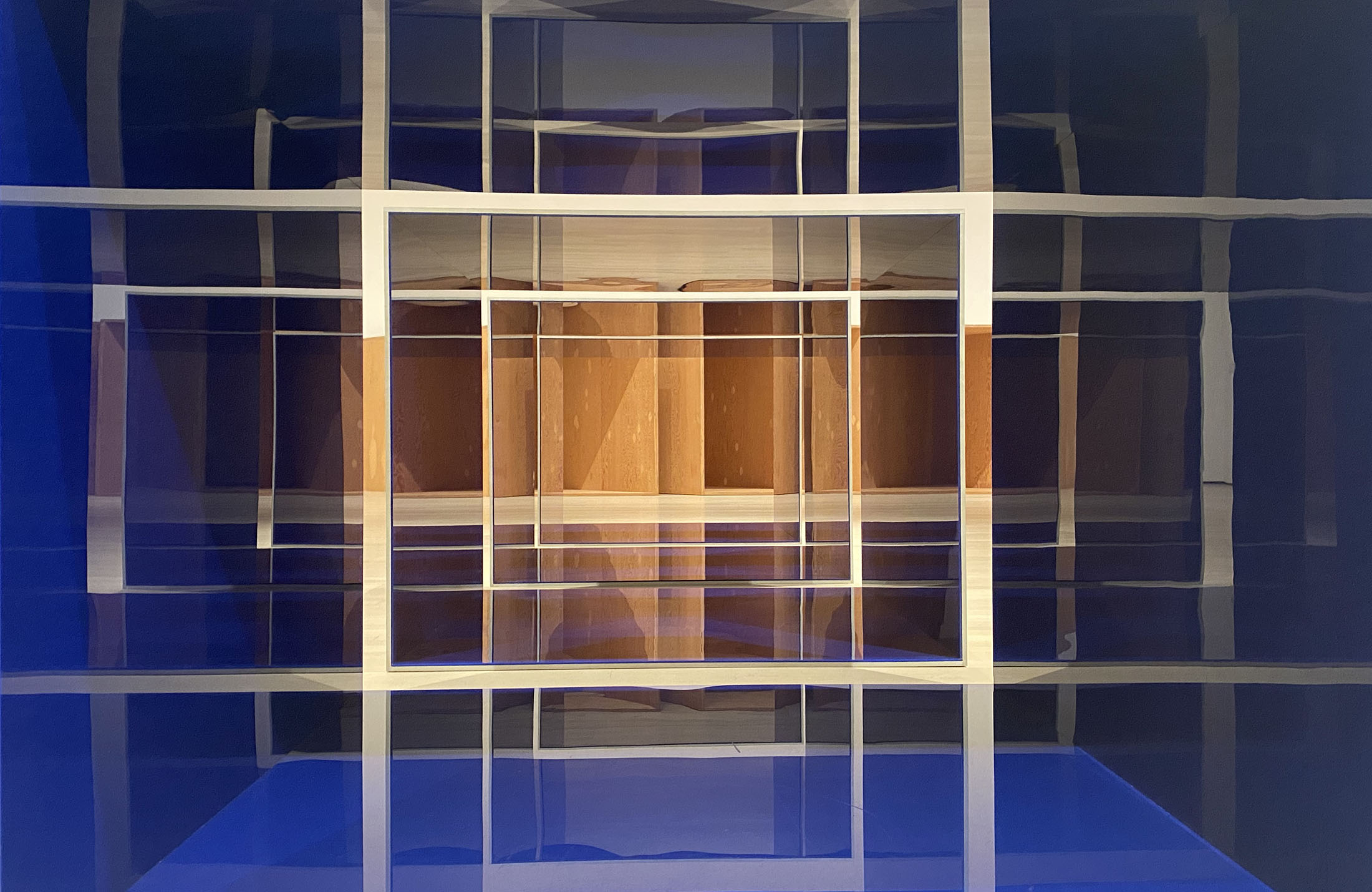 Donald Judd at MOMA, New York